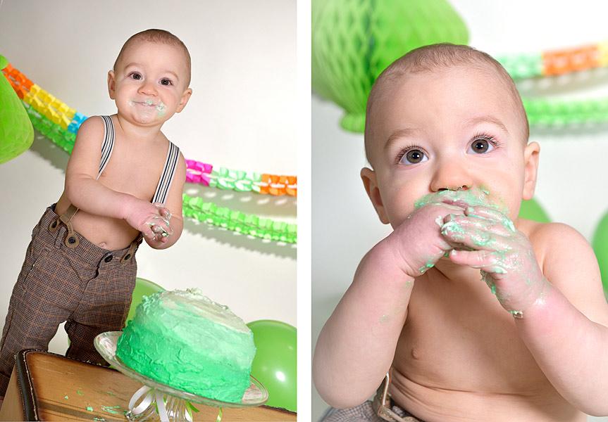 Cake Smash Fotoshooting Berlin Babyfotos Geburtstag 04