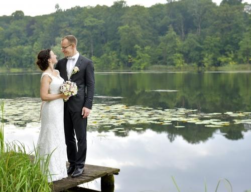 Romantische Hochzeit auf dem Landgut Stober