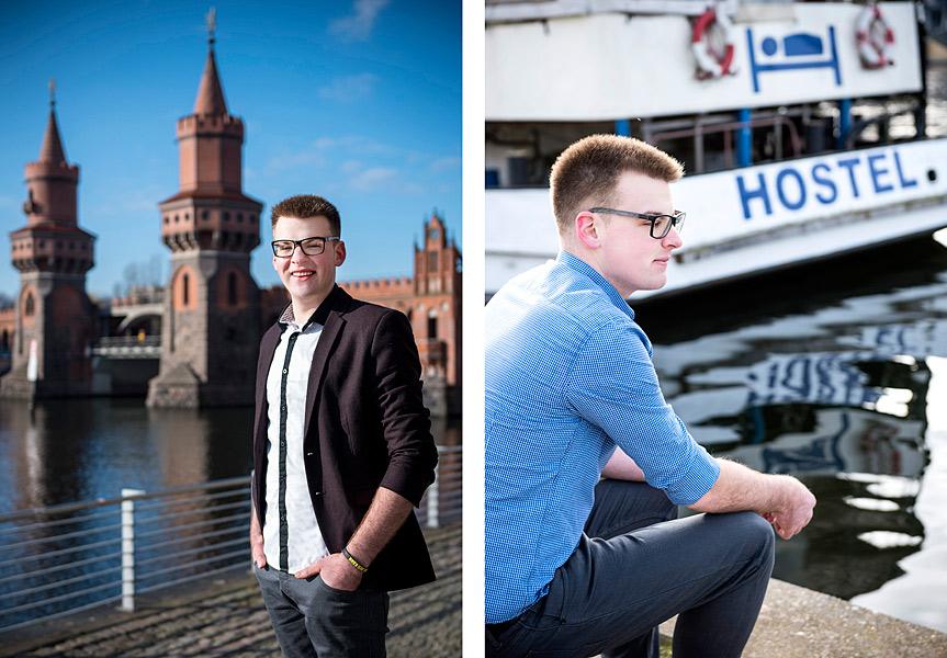 urbane portraitfotos kreuzberg, mobiler fotograf berlin, männerportrait, fotograf berlin, oberbaumbrücke berlin fotoshooting, fotografie jennifer sanchez