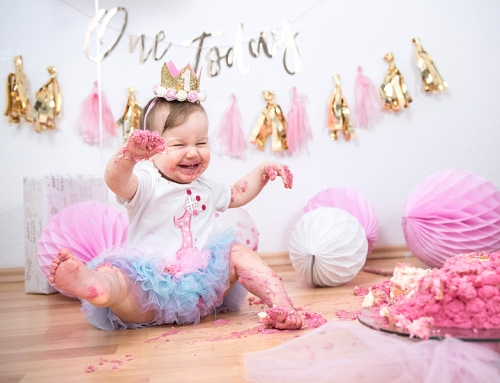 Geburtstags Fotoshooting Cake Smash