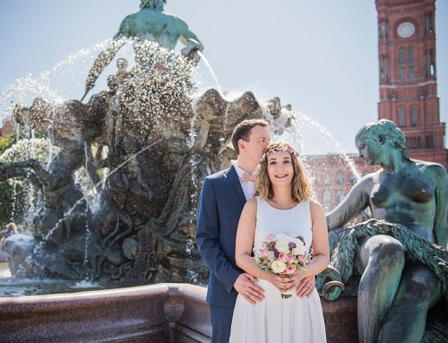 Hochzeit zu Zweit Berlin | Hochzeitsfotos Berlin