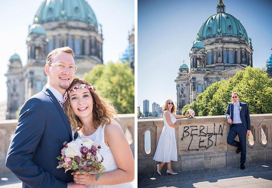 schwarz-weiß fotos zur hochzeit, heiraten in berlin, hochzeit zu zweit berlin, alleine heiraten berlin, elopement hochzeit,´hochzeit ohne gäste, museumsinsel